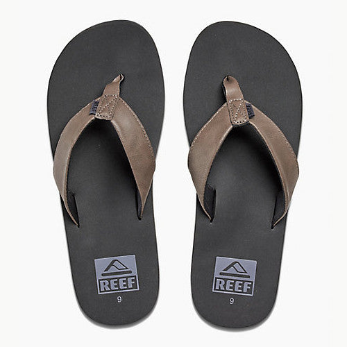Reef Mens Twinpin Grey 8.0