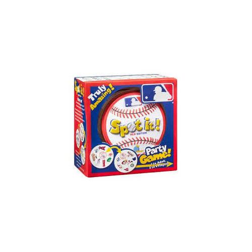 Blue Orange MLB Spot It! Game