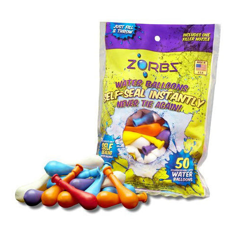 Zorbz 50CT Self Sealing Water Balloons