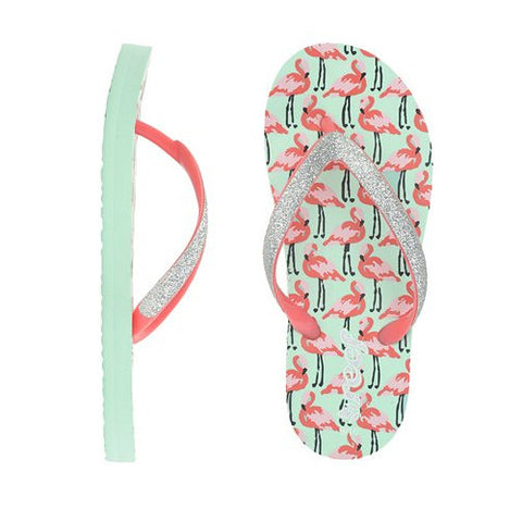 Reef Little Stargazer Prints Flamingos 4/5 Kids Size
