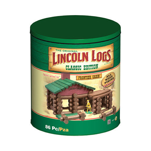 Lincoln Logs Classic Frontier Cabin Edit