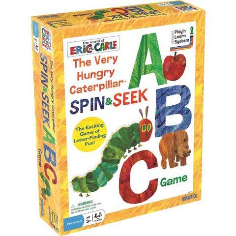Eric Carle Very Hungry Caterpillar Spin,