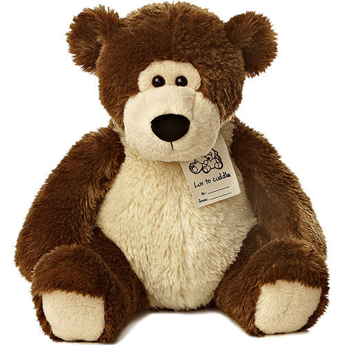 Aurora Luv to Cuddle Bear Dark Brown Lg