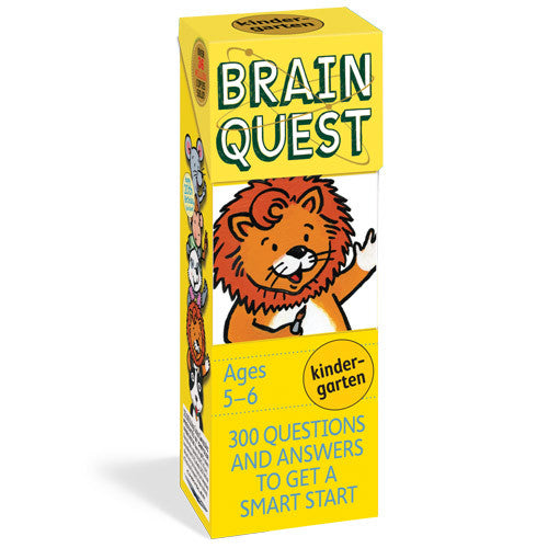 Workman Brain Quest Kindergarten Cards