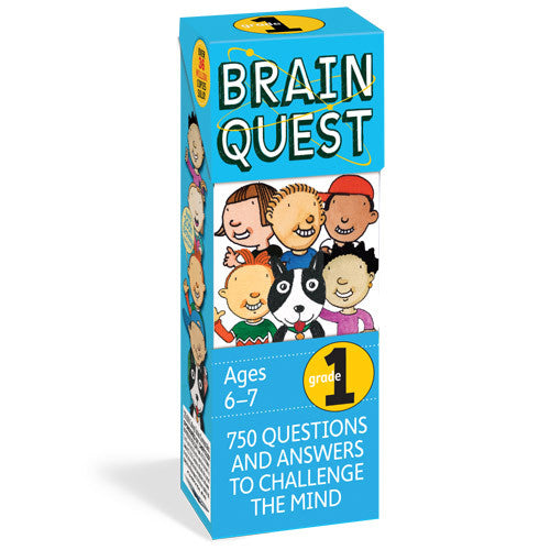 Workman Brain Quest 1st Grade Cards