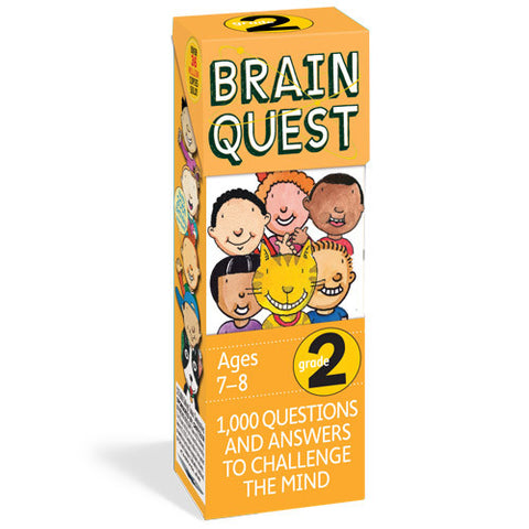 Workman Brain Quest 2nd Grade Cards