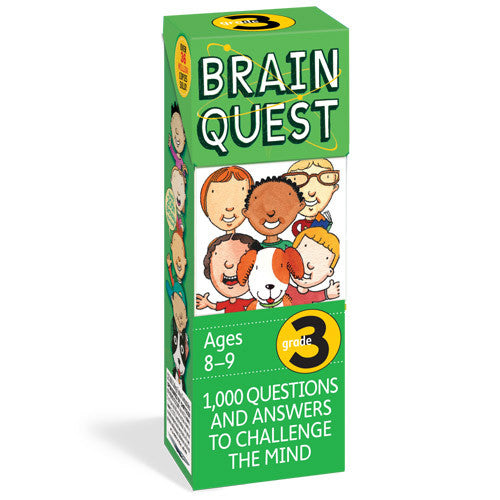 Workman Brain Quest 3rd Grade Cards