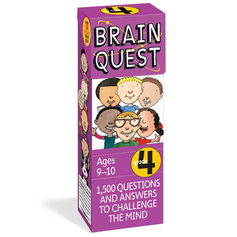 Workman Brain Quest 4th Grade Cards