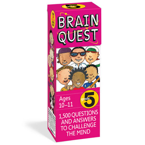 Workman Brain Quest 5th Grade Cards