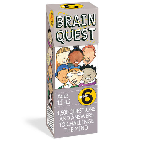 Workman Brain Quest 6th Grade Cards