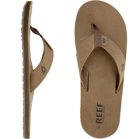 Reef Smoothy Leather Bronze Brown 7.0