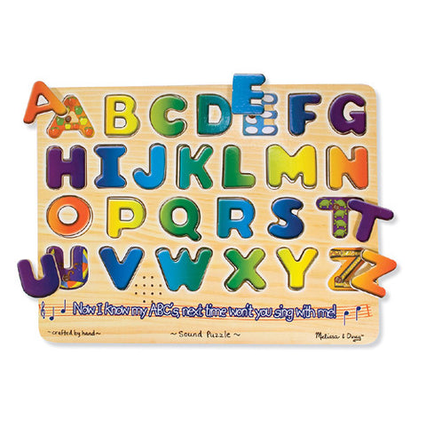 M&D Alphabet Sound Puzzle