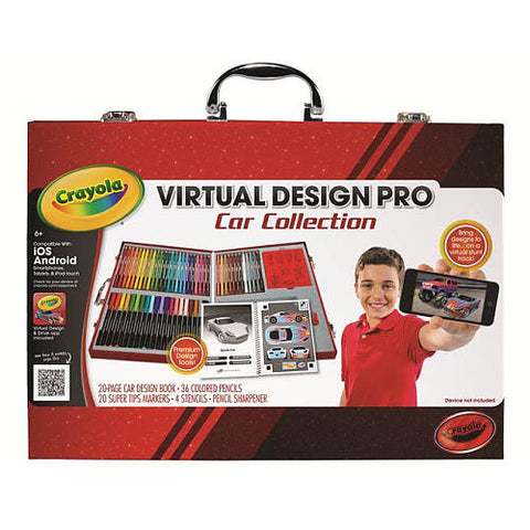 Crayola Virtual Design Pro Car Collectio