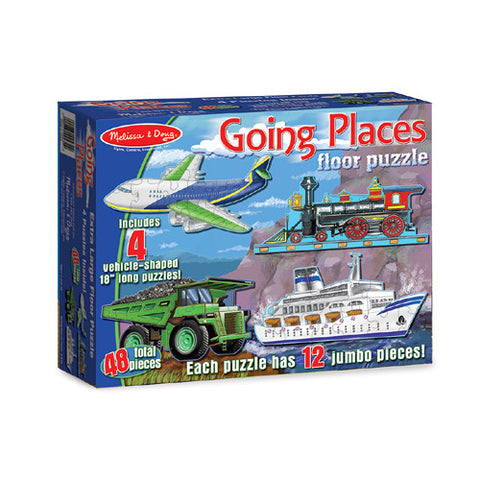 M&D Going Places 48 Pc. Puzzl