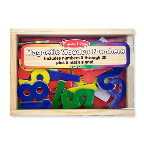 M&D Magnetic Numbers 0-20