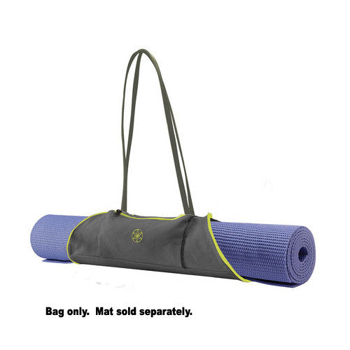 Gaiam Mat Bag On-The-Go Citron / Storm
