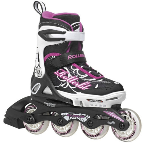 Rollerblade Spitfire XT Girls Black Purple 5 - 8