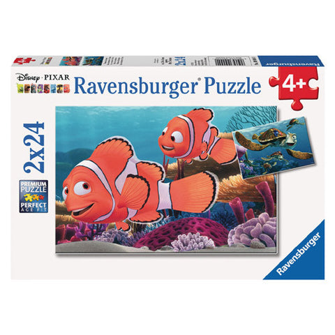 Ravensburger 2x24pc Nemo's Adventure