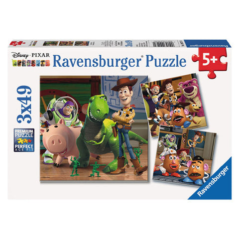 Ravensburger 3x49pc Woody & Rex