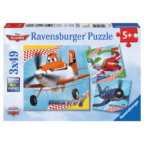 Ravensburger 3x49pc Dusty & Friends