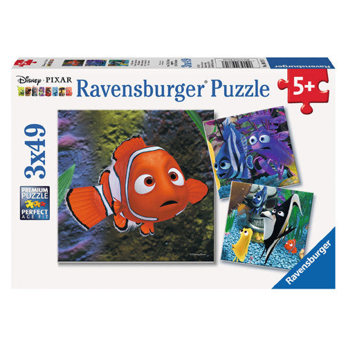 Ravensburger 3x49pc In the Aquarium