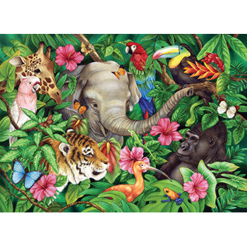 Ravensburger 60pc Tropical Friends Puzzl