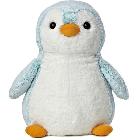 PomPom Penguin Bright Blue 16 inch
