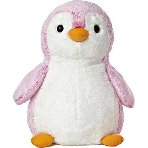 PomPom Penguin Bright Pink 16 inch