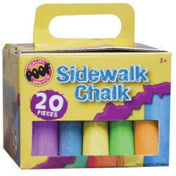 Poof 20pc. Jumbo Sidewalk Chalk