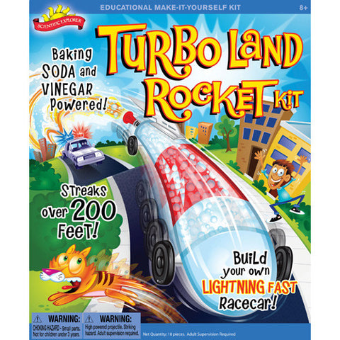 Science Explorer Turbo Land Rocket