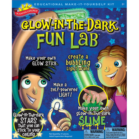 Science Explorer Glow in the Dark Fun La