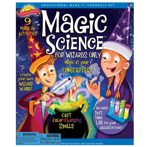 Science Explr Magic Science Wizards