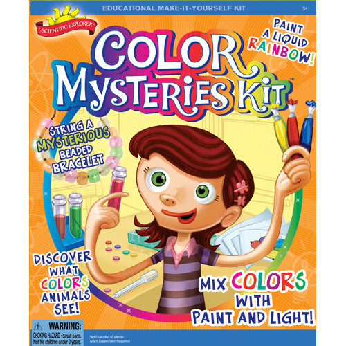 Science Explorer Color Mysteries Kit
