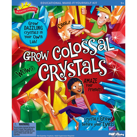Science Explorer Grow Colossal Crystals
