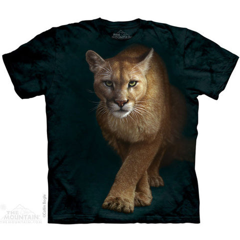 The Mountain Tee S/S Emergence Puma Medium