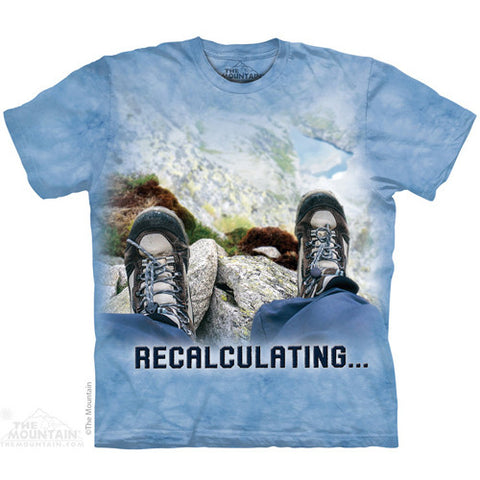 The Mountain Tee S/S Recalculating Outdoor X Large