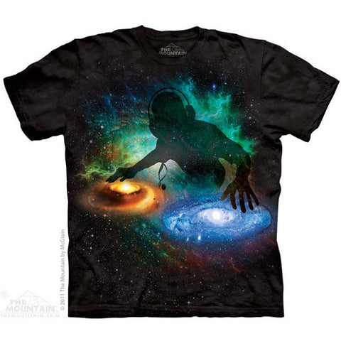The Mountain Tee S/S Galaxy DJ Medium