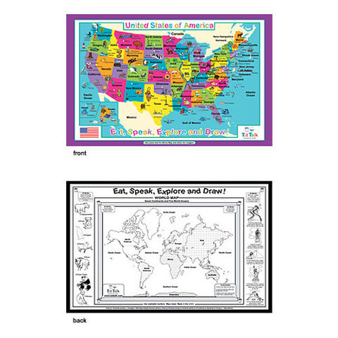 Tot Talk USA Placemat