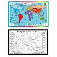Tot Talk World Placemat