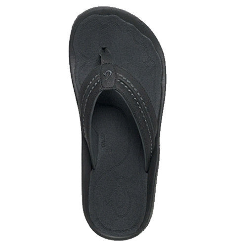 Olukai Men Hokua Black Dark Shadow 13.0