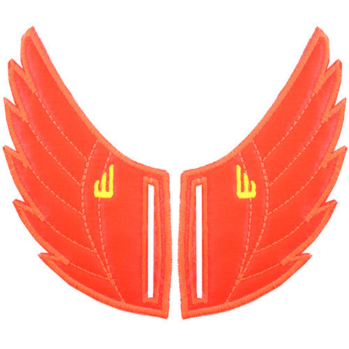 Shwings Rossmore Shoe Wings Shwings Shoe Wings| Orange Neon