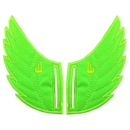 Shwings Rossmore Shoe Wings Shwings Shoe Wings| Lime Neon