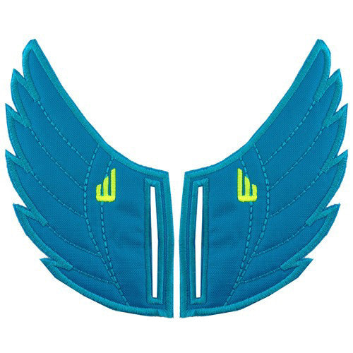 Shwings Rossmore Shoe Wings Shwings Shoe Wings| Ocean Neon
