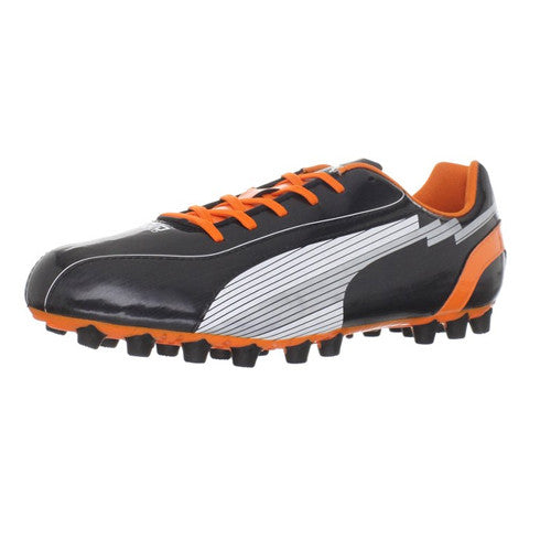 Puma Men evoSpeed 5AG Black White Orange 7.5