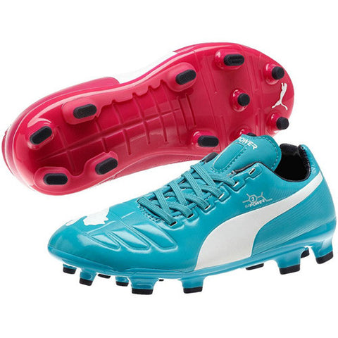 Puma Evopower III Tricks Jr Beet Blue White 1.5