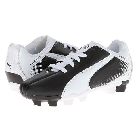 Puma Adreno FG JR Black White Pink White Black 13.5 Youth