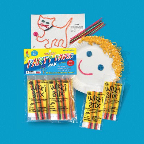Wikki Stix Party Favor Packs 15pk