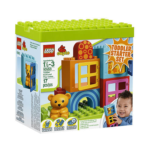 Duplo Toddler Build and Play Cubes