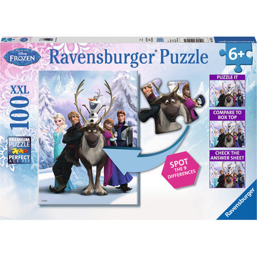 Ravensburger 100pc The Frozen Difference