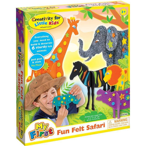 Creativity My First Fun Felt Safari